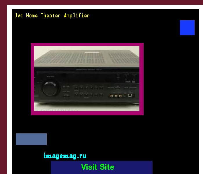 Jvc Home Theater Amplifier 184210 - The Best Image Search