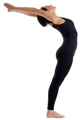 Standing Back Bend - Anuvittasana