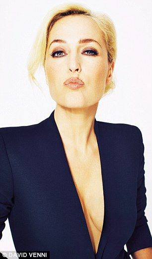 Gillian Anderson photographed by David Venni.