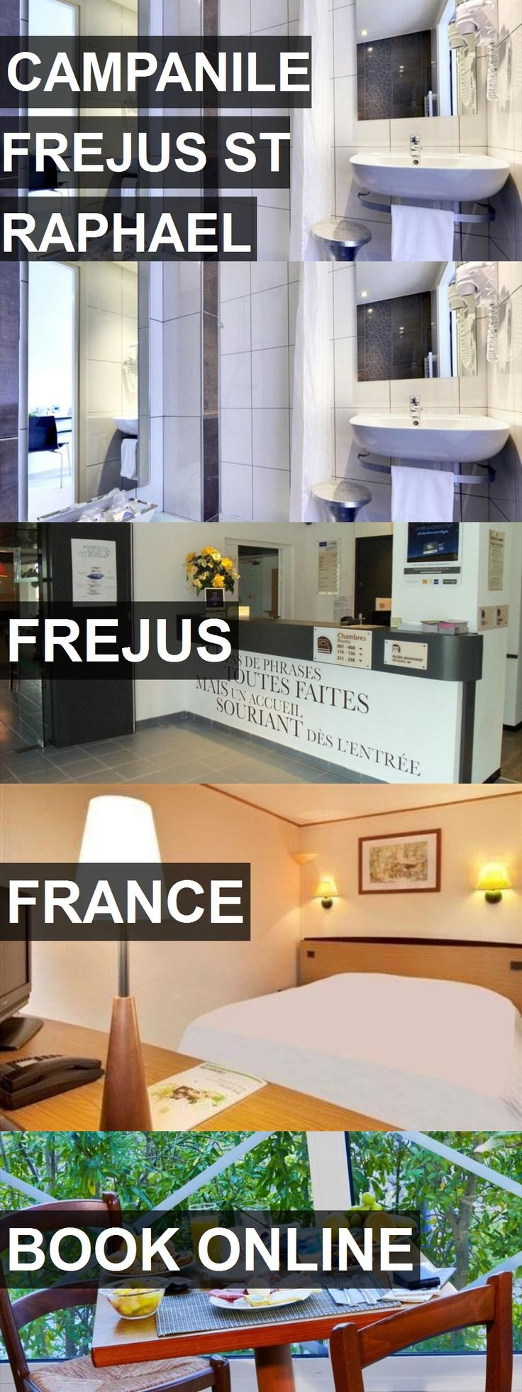 Hotel CAMPANILE FREJUS ST RAPHAEL in Frejus, France. For more information, photos, reviews and best prices please follow the link. #France #Frejus #hotel #travel #vacation