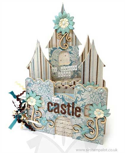 SO: Kaiser Craft - Beyond the Page - Fairy Castle Album