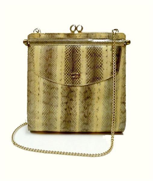 1950s Christian Dior vintage snakeskin bag: Evening Bags, Vintage Obsession, Vintage Antique, Heirloom Handbags, Christian Dior Vintage
