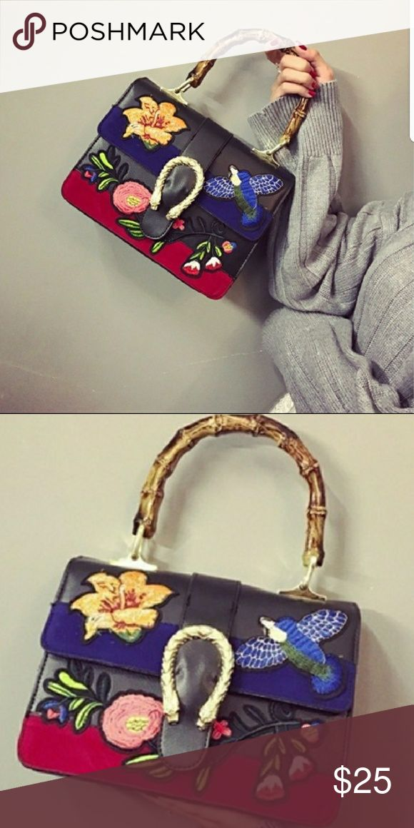 Topshop purse Get detail purse. Kind of like the gucci purse out now. Super cute. Like new. Topshop Bags Shoulder Bags