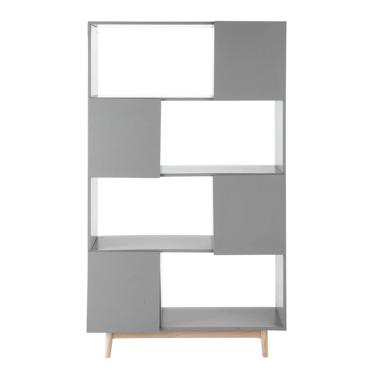 Discover Maisons du Mondeu0027s Wooden vintage bookcase in grey W Browse a  varied range of stylish, affordable furniture to