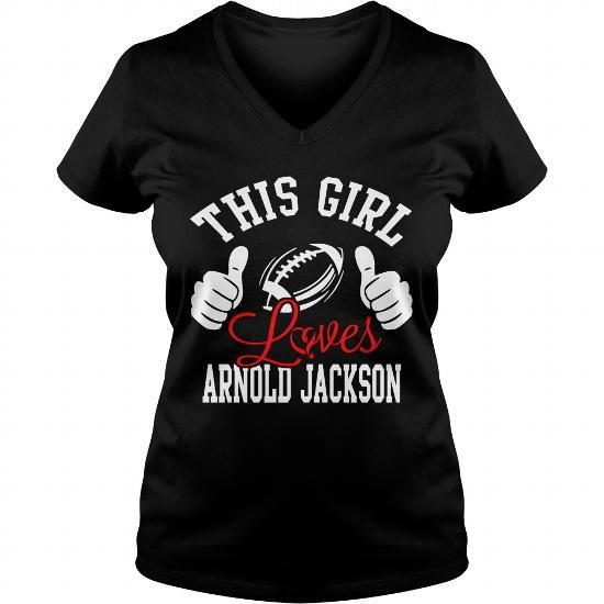 Awesome Tee This Girl Loves Arnold Jackson 2017 Shirts & Tees