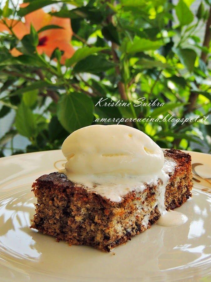 Amore per  la cucina!: Пирог из гречневой муки и шоколада/ Torta di grano...