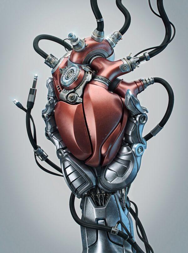 Heart by Aleksandr Kuskov, via Behance  http://www.behance.net/gallery/Heart/3203607#