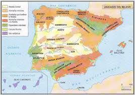 Resultado de imagen de cadenas montañosas de la peninsula iberica