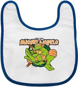 Ninja Kaplumbağalar - Michelangelo Kendin Tasarla - Bebek Önlüğü