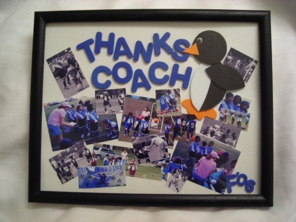 Coach appreciation gift collage - by Keeya