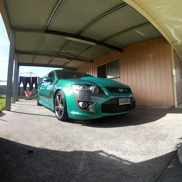 """105 Likes, 4 Comments - Fg/x Bseries Gauge Mounts (@stingraycarsecurity) on Instagram: """"Chucks gt335 what a beast!!@chuckmatic #clubfg #fpvgt335#fpv310 #fpvf6 #xr6turbo #xr6 #xr6…"""""""