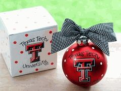 Texas Tech University Red Raiders Logo Christmas Ornament $20.00