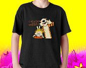 Calvin And Hobbes Mens And Womens Youth T shirt