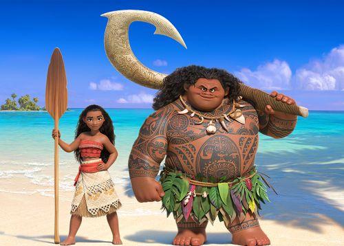 Primera imagen de los protagonistas de 'Moana', lo nuevo de Disney