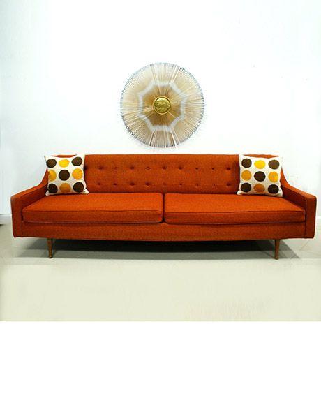 San Antonio Brevitas mid century modern futon