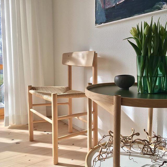J39 - the iconic chair by Børge Mogensen. Designed in 1947. Image via @nordiskmobelkonst
