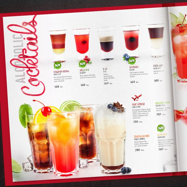 Best Menus Images On   Restaurant Menu Design Food