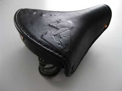 Busyman Bicycles: Peugeot Lion Matress Saddle