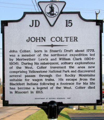 The Legendary John Colter | Wonders