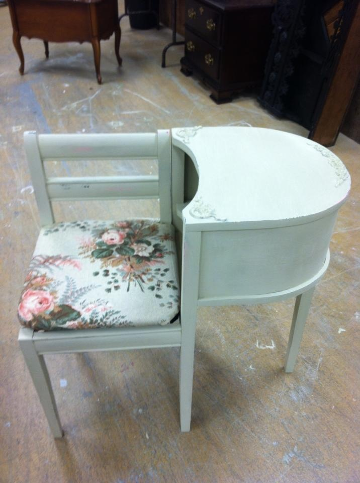 Telephone table, AS Country Grey