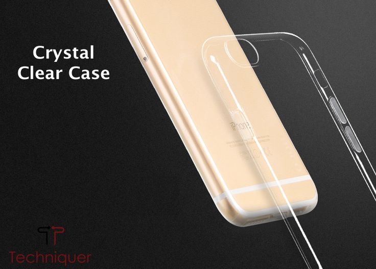 ULTRA SLIM & CRYSTAL CLEAR - iPhone 6 Plus case / iPhone 6S Plus case [5.5inch] is ONLY 0.6mm thick and weighs ONLY 0.8g. Transparent TPU bumper case provides crystal clear view to showcase the beauty of your iPhone.