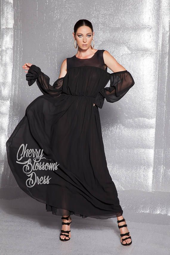 Black Wide Strap Evening Gown 128153 Maxi Dresses And Kaftans