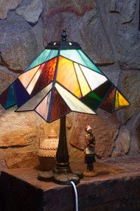 Creative Company | Classy Glass Art: Patchwork lamp
