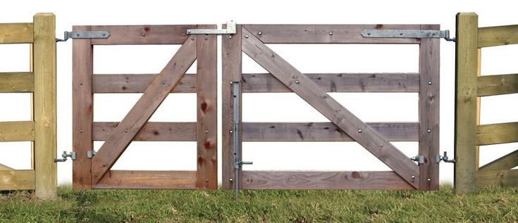 How to build a double wide wooden gate woodworking