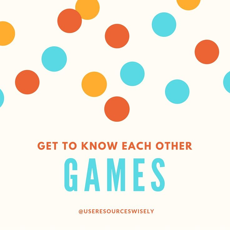 getting to know each other dating games