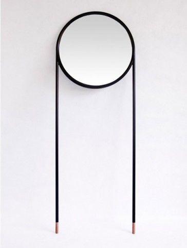 Espejo MIRROR CIRCULAR de Omelette.ed, diseño de la Mamba - Tendenza Store