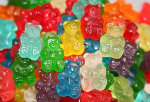 We have so many different gummy bears to choose from, it can only be described as a rainbow! Grapefruit, mango, and so much more!