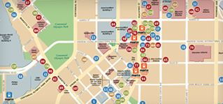 Downtown Atlanta Restaurant Week August 2014 - Interactive Map Guide for Participating Restaurant Locations