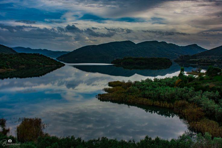 Kremasta artificial lake in Aitoloakarnania near Agrinio city - Greece.