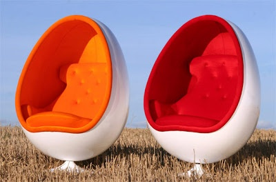 Comfort with Egg Chair