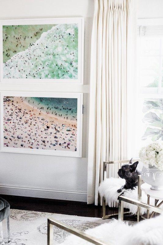 Chriselle Lim Home - Gray Malin Framed Beach Prints