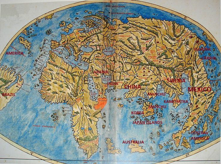 40 best marcopolos chinese world maps show america images on pietro coppo 1520 map copied from chinese map has preserved early chinese world map gumiabroncs Image collections