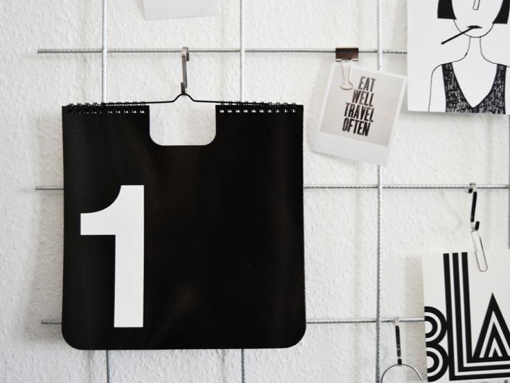 Ebay tip: perpetual wall calendar - via HOMESICK.nu