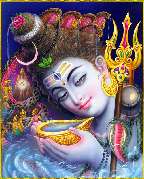 Top Lord Shiva Drinking Poison Wallpapers for free download