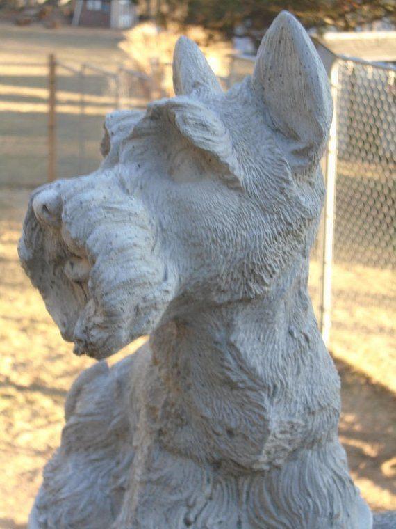 Concrete Statue Scottie Dog Mini Me Memorial Indoor 400 x 300