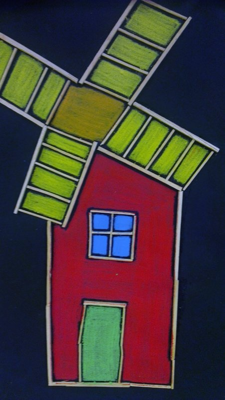 Värimaan rakennuksia - liidut.