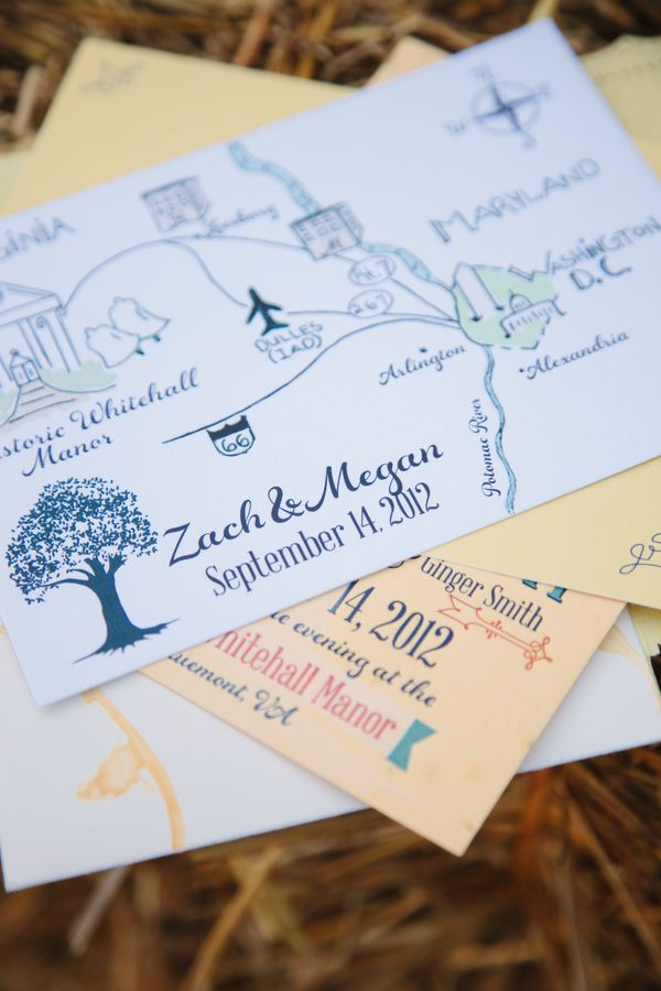 wedding invitations map%0A A classic map of the Washington metropolitan area on invitations  weddings   youreinvited  guestlist