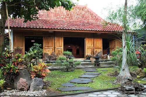 desain rumah kuno