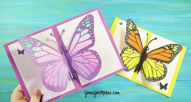 Diy Butterfly Greeting Card Template Cards Handmade Butterfly Cards Greeting Cards Diy
