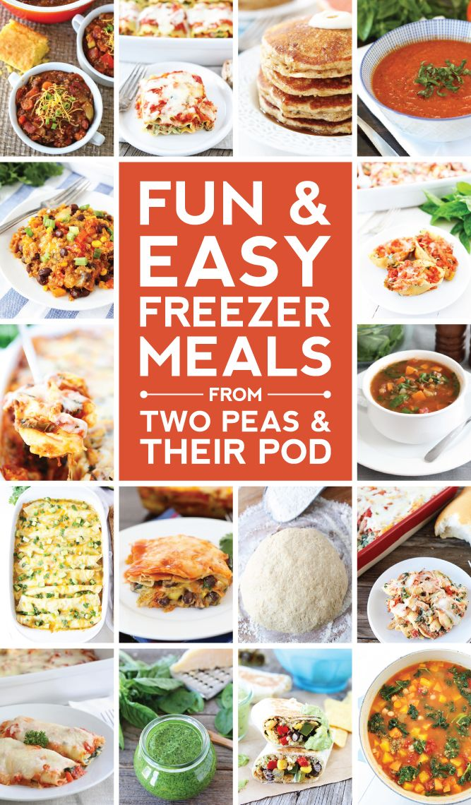 Easy Freezer Meals and Tips on twopeasandtheirpod.com Stock your freezer with these easy freezer meals! They are all SO good!