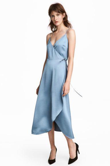 10 ideas de vestidos azules cortos y largos de fiesta 2019 | best