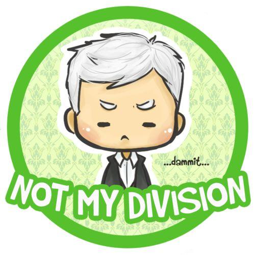 Greg Lestrade - not my division