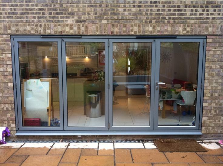 4 Leaf Bifold Doors on a modern property.