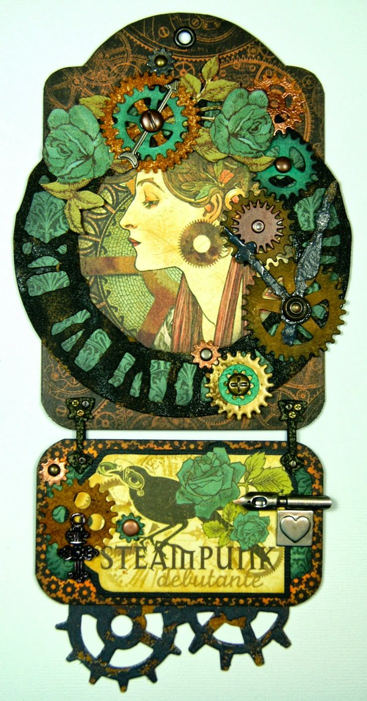 26 best images about steampunk paper craft ideas on pinterest for Steampunk arts and crafts