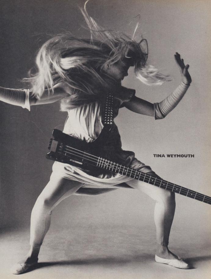 August 1985   Vogue: Heavy Petal: Women In Rock, Tina Weymouth