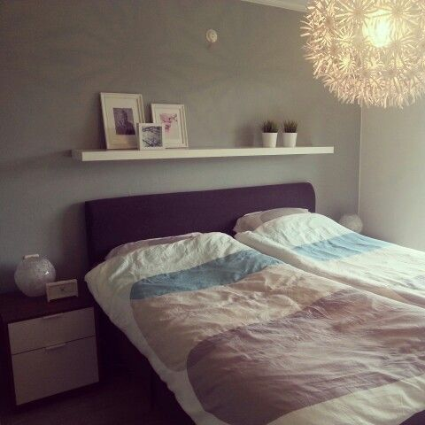 Slaapkamer IKEA Decoratie Flexa Early Dew